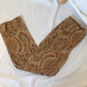 J.Jill patterned dress pants